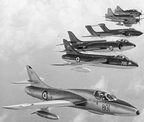 Le bras aérien de la flotte dans les années 1960